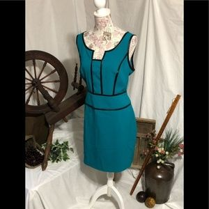 Andrew Marc New York blue dress sz 14